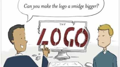 ... de a logó legyen még nagyobb!
